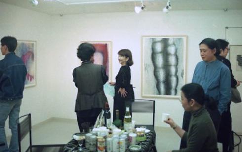辰野登恵子 モノタイプ展:作品画像4